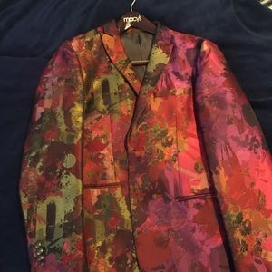 Men's red blazer